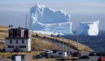 На «Аллее айсбергов» появился колосс поболее того, который погубил «Титаник»