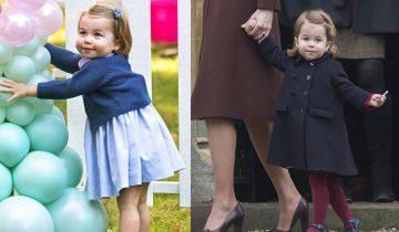Принцессе Шарлотте 2 года: мир наблюдает за взрослением будущей королевы