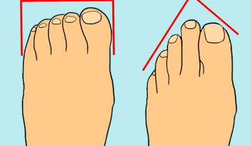 При знакомстве на пляже смотрите на пальцы ног человека — их форма подскажет черты его характера