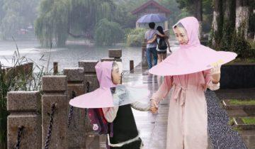 Китайское ноу-хау — «дождевая шляпа»