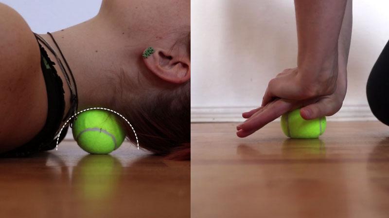 Картинки по запросу Болит шея, затекает спина, ноют колени? Вам нужен теннисный мяч и всего 7 простых упражнений!
