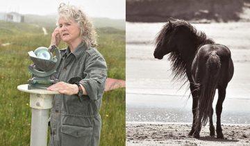 Она 40 лет живет на острове в одиночестве, только в компании диких лошадей