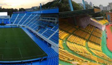 Чтобы привлечь удачу и победы, китайский футбольный клуб перекрасил целый стадион по фен-шую