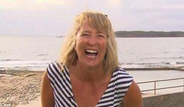 Бесстрашная австралийская женщина поймала акулу голыми руками и… выкинула из бассейна