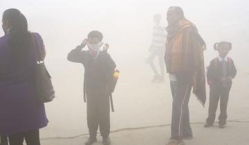 Сюрреалистическая картина: столицу Индии накрыл чудовищный смог