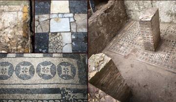 Метростроители откопали древнеримскую виллу и поразились найденной красоте