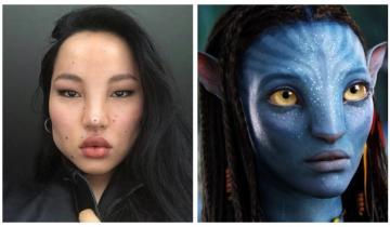 Тибетская модель с внешностью инопланетного «аватара» будоражит соцсети