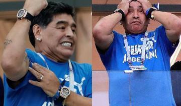 Истерика экс-чемпиона: Диего Марадона разрыдался, не выдержав позора аргентинской сборной