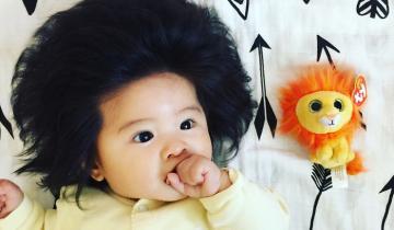 У этой шестимесячной девочки волосы лучше, чем у большинства взрослых на планете!