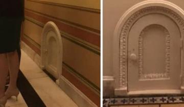 Туристы обычно не замечают эти маленькие дверцы по всему Капитолию. Для кого они созданы?