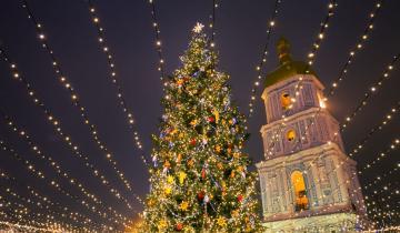 Главную елку Украины признали самой красивой в Европе (рейтинг European Best Destinations)