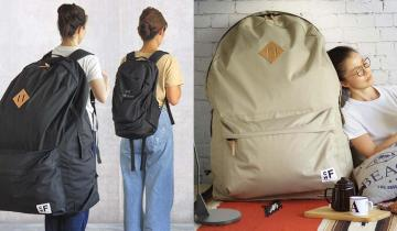 Самый модный аксессуар нового года — гигантский рюкзак-гардероб!