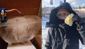 Сибирские морозы пришли в США и американцы в ужасе делятся снимками настоящих холодов