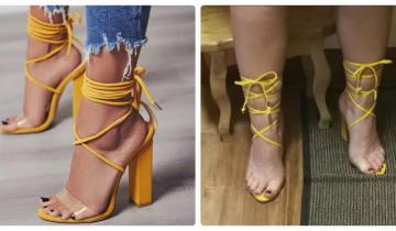 15 ужасных покупок на Aliexpress: девушки, которые заказали обувь и сильно облажались