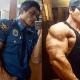 Самый знаменитый бодибилдер-полицейский из Южной Кореи