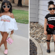 Интернет-пользователи возмущены тем, что родители одевают свою маленькую дочку в недетскую одежду