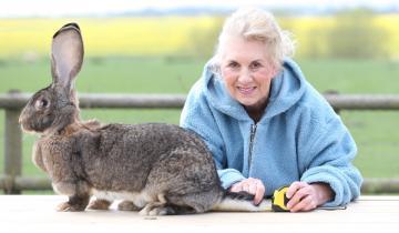 Нестандартный рекордсмен: крольчиха с самым длинным хвостиком в мире!