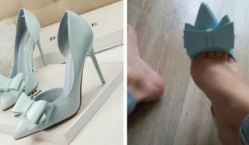 14 пар обуви, заказанной в Интернете, которые не оправдали ожидания покупателей
