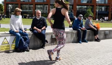 Бег задом наперед может стать новым популярным видом фитнеса