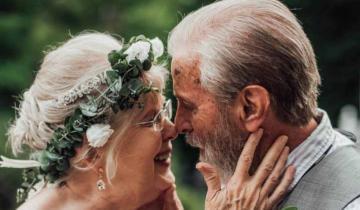 Алмазная свадьба по-американски: правнуки устроили супругам шикарную фотоссесию!