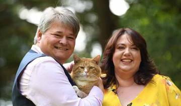 Прожорливый кот помог хозяевам выиграть в лотерею миллион фунтов!