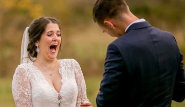 Жених сделал невесте подарок-сюрприз: её реакция растопит самое черствое сердце!
