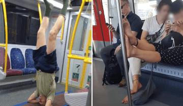 15 фото, которые показывают, как не нужно себя вести в общественном транспорте
