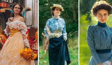 Украинка, надевающая ретро-одежду, покорила соцсети