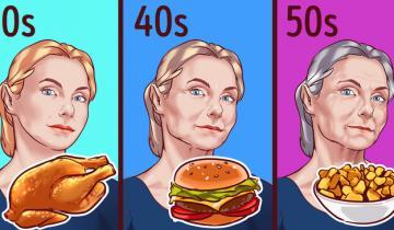 Каков возраст, такая и диета. Чем лучше питаться в 30+ лет? А в 40+ или 50+?