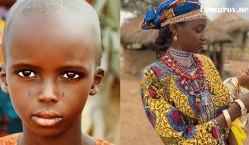 Африканский народ Фулани поражает своей неземной красотой