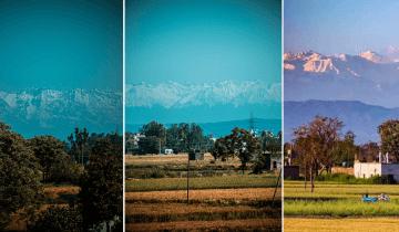 Воздух стал чище: впервые за 30 лет жители Индии увидели вершины Гималаев