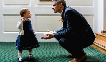 17 примеров, как детская непосредственность украшает свадебные фото