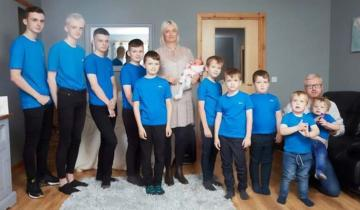 В семье с 10 мальчиками, наконец, родилась девочка. Дождались!