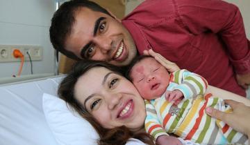 Как сегодня выглядит малыш, который родился с родимым пятном в виде сердца