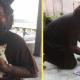 Бездомный мужчина ежедневно кормит уличных кошек, однако сам частенько голодает