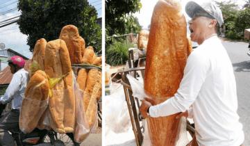 Гигантский хлеб Ан Джианга стал новой достопримечательностью Вьетнама