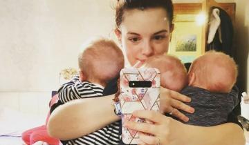 Мать троих новорожденных детей не смогла их отличить друг от друга