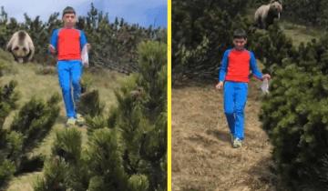 12-летний парнишка встретил медведя и действовал как по учебнику