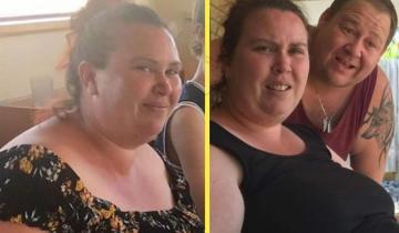 Мама 4-х детей сбросила больше 50 кг, увидев себя на неудачном фото