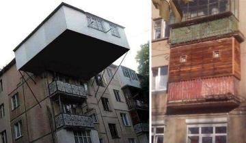 И смешно, и плакать хочется: 13 ужасных балконов, от которых вам будет не по себе