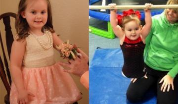 8-летняя девочка, рожденная без ног, удивила всех и стала гимнасткой