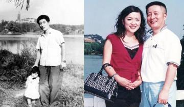 Мужчина из Китая 40 лет фотографировался с дочкой на одном месте