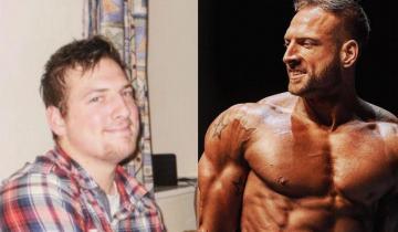 Парень питался только пиццей и весил 115 кг, но потом он решил измениться