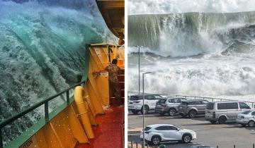 Огромные волны, которые производят неизгладимые впечатления