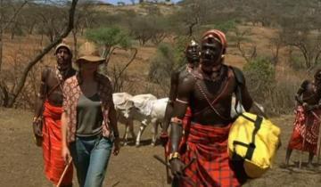 Швейцарка вышла замуж за африканца из племени масаи и переехала в Кению