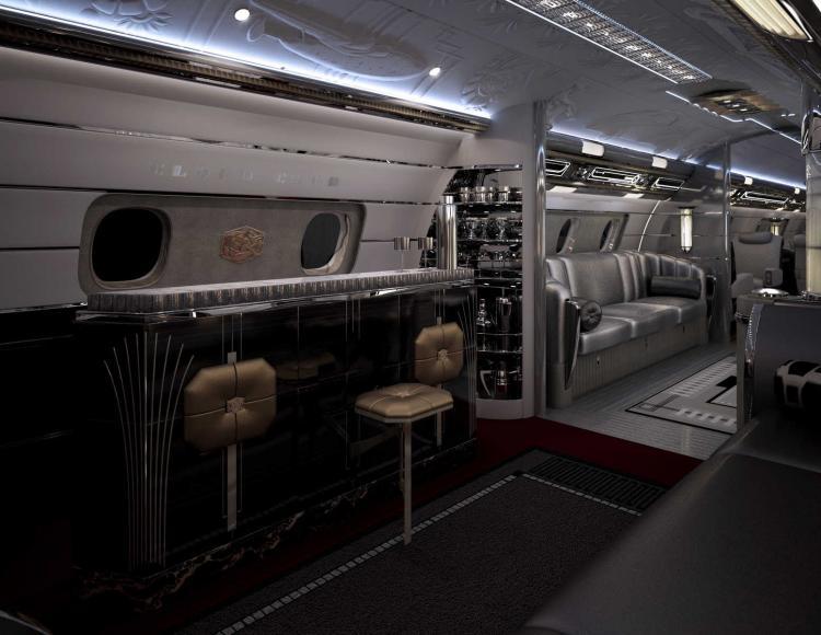 Юлий Грингуз пояснил, за что так ценится Embraer Lineage 1000E — жилая зона этого бизнес-джета превышает 70 квадратных метров