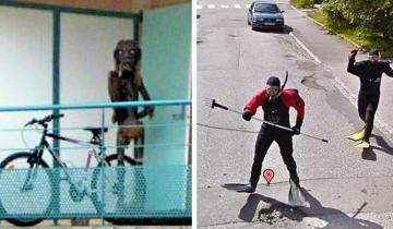 Абсурдные и забавные фото с сервиса Google Street View