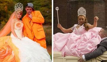 Примеры, когда невесты презрели традиции, и оделись во что захотели!