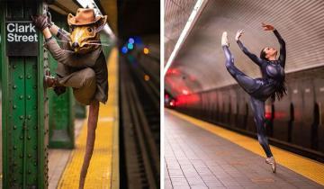 Странные, но яркие: чудики из метро Нью-Йорка