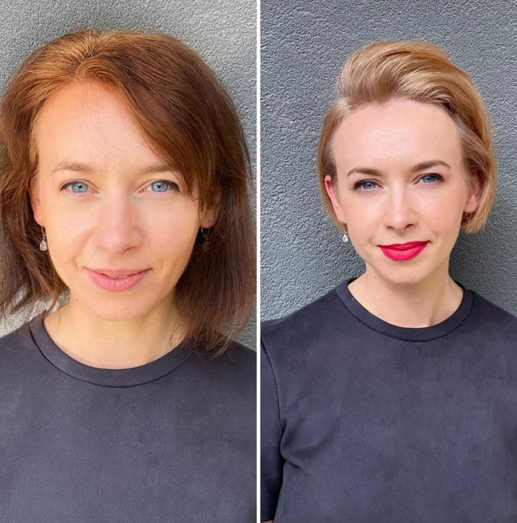 Как меняются женщины при помощи новых причесок